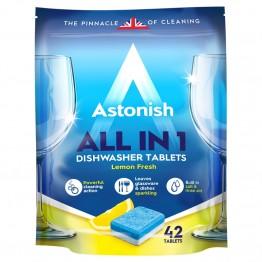 ASTONISH All in 1 indaplovių tabletės, 42vnt