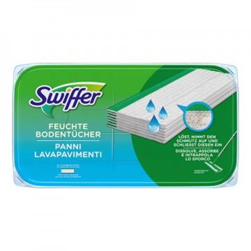 SWIFFER drėgnos grindų šluostės 12 vnt