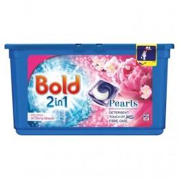 BOLD 2in1 Pearls bijūnų ir vyšnių žiedų aromato skalbimo kapsulės, 38 vnt