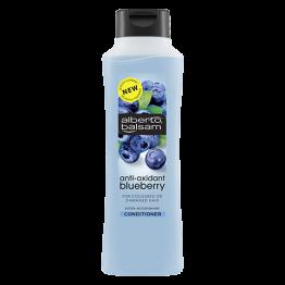 ALBERTO BALSAM maitinantis mėlynių aromato kondicionierius su antioksidantais, dažytiems ir pažeistiems plaukams, 350ml