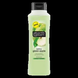 ALBERTO BALSAM atgaivinantis žaliųjų obuolių aromato kondicionierius, riebiems ir normaliems plaukams, 350ml