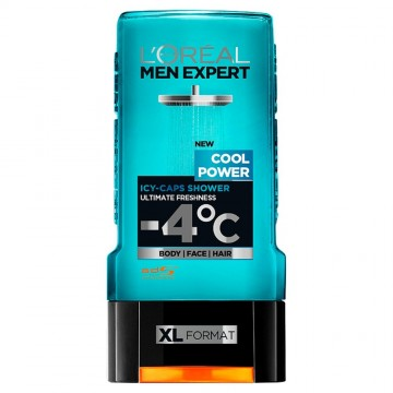 L'Oréal Men Expert Cool Power dušo želė 300 ml