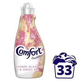 COMFORT Cherry blossom and sweet pea koncentruotas audinių minkštiklis, 1,16l
