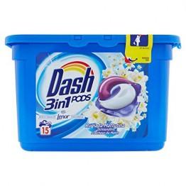 DASH 3in1 skalbimo kapsulės 14 vnt