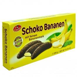 SIR CHARLES bananai šokolade, 300 g