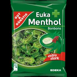GUT GÜNSTIG  EUKA MENTHOL saldainiai  250 g