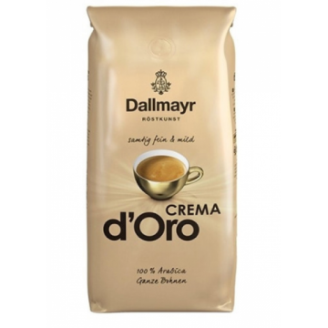 Dallmayr Crema d'Oro kavos pupelės, 1kg