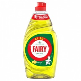 FAIRY LEMON indų ploviklis 433 ml