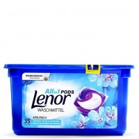 Lenor 3in1 gelinės skalbimo kapsulės 35 vnt