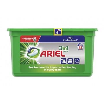 ARIEL  3in1 universalios skalbimo kapsulės 35 vnt