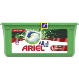 ARIEL  All in 1 skalbimo kapsulės 22 vnt