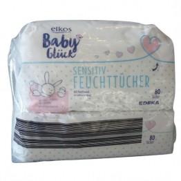 ELKOS drėgnos servetėlės kūdikiams 2×80 vnt