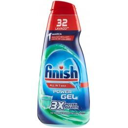 FINISH All-in-1 MAX indaplovių indų plovimo gelis 650 ml