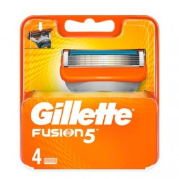 GILLETTE Fusion skustuvo galvutės 4 vnt