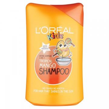 LOREAL kids vaikiškas šampūnas MANGO 250 ml