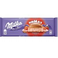 MILKA Fresa Strawberry šokoladas 300 g