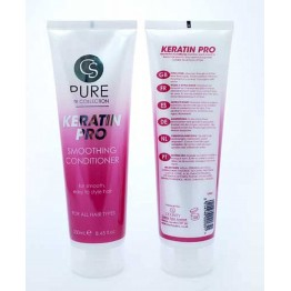 PURE COLLECTION  plaukų kondicionierius su keratinu, 250 ml