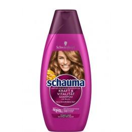 SCHAUMA Kraft & Vitality Refresher šampūnas 250 ml