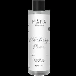 "MARA Naturals dušo želė/ vonios putos ""Elderberry flower"" 200 ml"