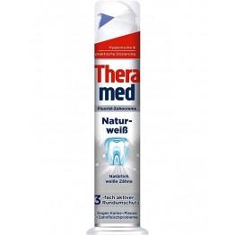 THERAMED Natur Weiss balinanti dantų pasta 100 ml