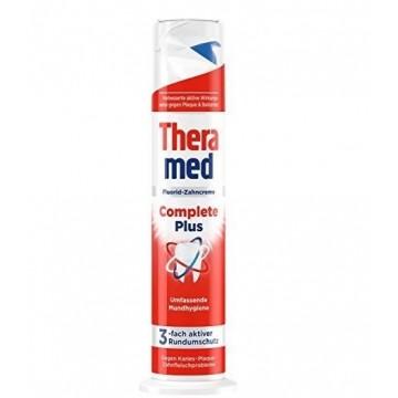 THERAMED complete plus dantų pasta su dozatoriumi 100 ml