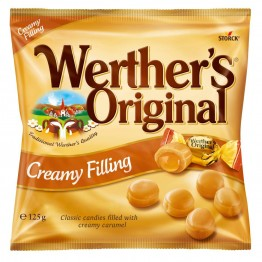 WERTHER'S ORIGINAL karameliniai saldainiai 125 g